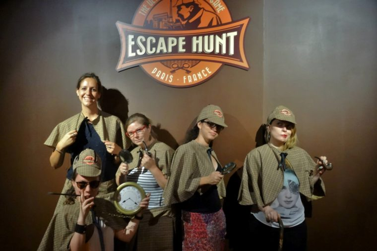 team-jeu-Escape-Hunt-Paris